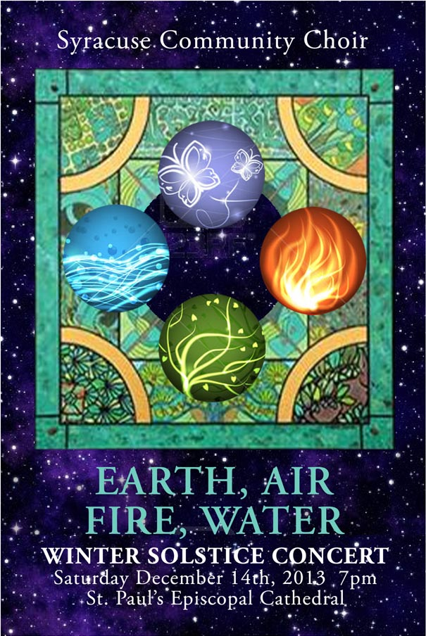 "Winter Solstice Concert - ""Earth, Fire, Air, and Water"" @ St. Paul's Cathedral 